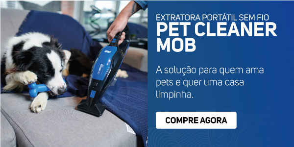 Extratora Portátil Sem Fio WAP Pet Cleaner Mob