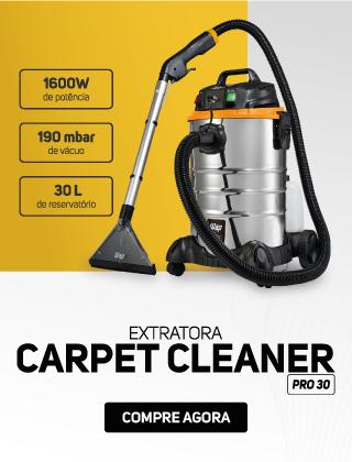 Extratora de Carpetes e Estofados WAP Carpet Cleaner Pro 30