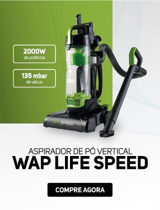 Aspirador de Pó Vertical 2 em 1 WAP Life Speed
